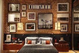 exposed brick living room wall brasilia court interior design