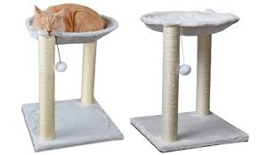 62 off on cat tree tower condo or hammock groupon goods