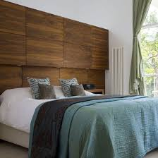 Cool Bedrooms Ideas Choosing Materials For The Wall Behind The Headboard 55