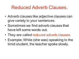 adjective adverb and noun clauses ppt video online download