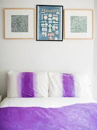 How To Dry A Duvet How To Ombre Dip Dye A Duvet Cover Hgtv