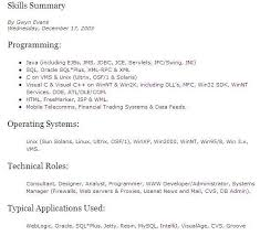 Sample Of Resume For Job by It Resume Skills Uxhandy Com