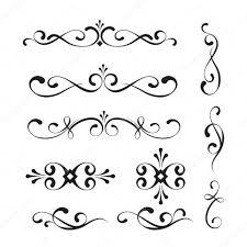 decorative elements and ornaments stock vector daniliza 35511885