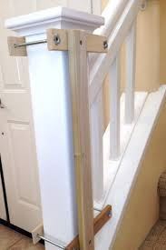 Install Banister Custom Baby Gate Wall And Banister No Holes Installation Kit