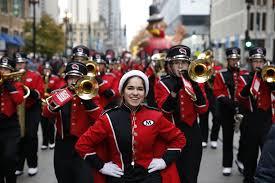 thanksgiving day parade in chicago chicago tribune