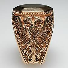 custom rings for men made ornate custom mens signet ring solid 14k gold custom