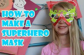 making masks with free superhero mask template