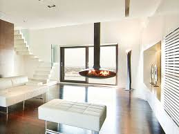 open central hanging fireplace gyrofocus gyrofocus collection by focus creation design dominique imbert