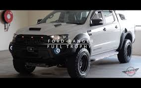 Ford Ranger Truck 2016 - ford ranger wheels fuel trophy rims autocraze youtube