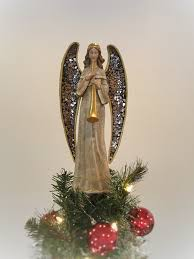 Outdoor Lighted Christmas Angels by Wire Wrapped Angel Sculpture Tree Topper Inspiration W I R E