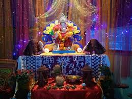 decoration themes for ganesh festival at home ganesh chaturthi puja chaturthi puja ganesha happy birthday