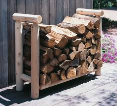 outdoor firewood rack rustic firewood rack rustic natural cedar