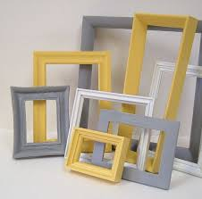 grey and yellow home decor yellow and grey home decor picture frames modern wall decor gallery