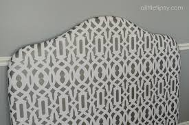 Upholstered Headboards Diy by Diy Headboard A Little Tipsy
