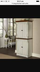 Storage Cabinets Kitchen Amazon Com Home Styles 5022 69 Nantucket Pantry Distressed White