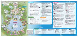 Orlando Parks Map by Epcot Map 2 Dis Blog