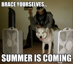 Summer Is Coming Meme - brace yourselves summer is coming summer is coming quickmeme