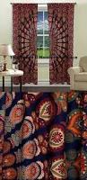 Hippie Drapes Mandala Tapestry Curtains Boho Curtains Tapestry Drapes Mandala