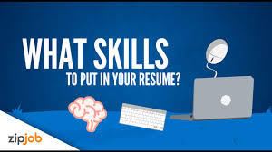 What To Put Under Skills In Resume Resume Skills You Need To Include To Land That Interview Youtube