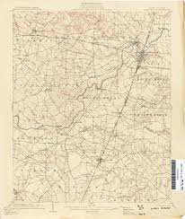 Map Of Nc State by