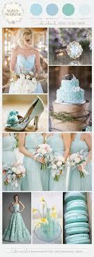 aquamarine wedding wedding color palette aquamarine