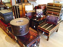 beautiful travel trunks a beautiful collection of vintage and antique louis vuitton trunks