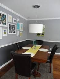 Chair Rail Ideas For Dining Room I Like The Two Tone Paint With The White Chair Rail Seperating The
