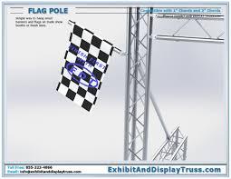 Finish Line Flag Banner Frames Sign Frames Flag Pole