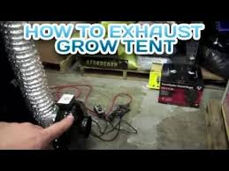 carbon filter fan for grow room grow tent passive outtake air vs aggressive air flow how to