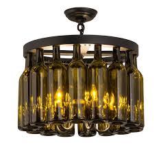 Light Fixtures Sale Decoration Wine Bottle Light Fixtures Chandelier Bar Lighting For