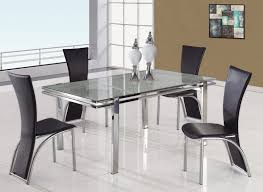 All Glass Dining Room Table All Glass Dining Table Luxurious Set For Dinner Homesfeed