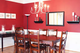 dark wainscoting dining room