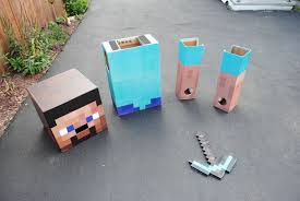 Minecraft Villager Halloween Costume Minecraft Steve Costume 6 Steps Pictures