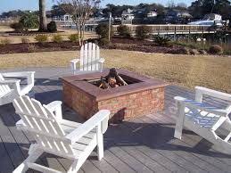 Deck Firepit Waterway Firepit Eclectic Deck Other By Coastroad Hearth