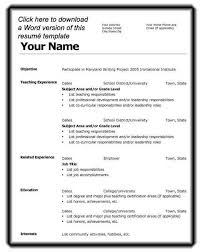 resume format for in word resume format microsoft word http www regarding