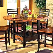 counter height dining table with leaf ethan allen counter height dining table bar counter stools home