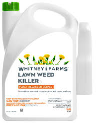 fast acting weed killer for home lawns