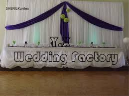wedding backdrop prices white color stage curtain wedding backdrop include purple drape