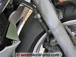 stainless steel brake line upgrade webbikeworld