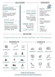 Sample Of Creative Resume by 30 Examples Of Creative Graphic Design Resumes Infographics