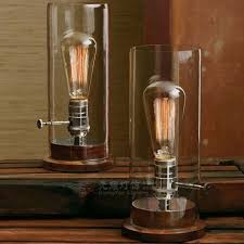 Edison Floor L Promotion Edison Vintage Glass Cover Lshade Solid Wood Base