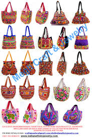 beautiful stylish banjara vintage indian handmade embroiled bag