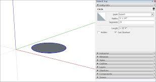 drawing basic shapes sketchup knowledge base