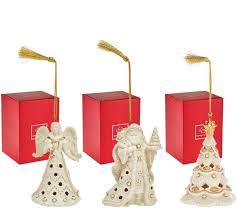 ornaments qvc ornaments lenox set of silver