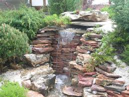 Waterfall In Backyard Waterfall Designs To Adorn Your Backyard Best Home Design Ideas