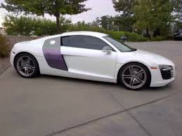 audi color changing car audi r8 color change wrap black to pearl white with accentstvp