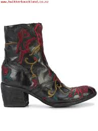 womens boots sale nz seiko build black fauzian jeunesse embroidered ankle boots