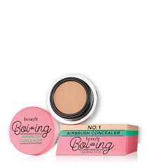 How To Shape Eyebrows With Concealer Boi Ing Airbrush Sheer To Medium Coverage Concealer Benefit