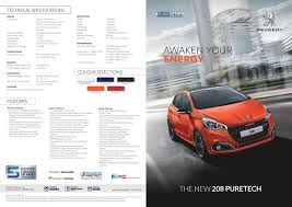 peugeot car price in malaysia motoring malaysia peugeot 208 puretech and 2008 suv puretech are
