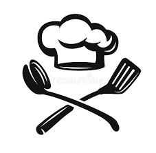 chapeau de cuisine chapeau de chef avec des ustensiles de cuisine illustration de